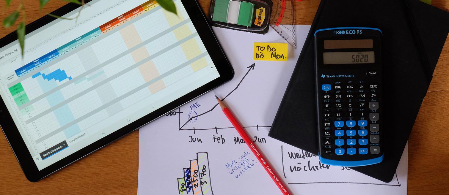 Projektplanung (Bild: Pexels)